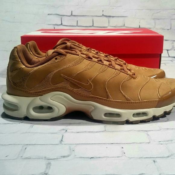 sports shoes 3705a 9948a New Nike Air Max Plus EF TN Wheat Flax Shoes sz 11